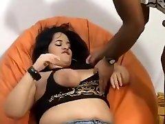 Horny BBW, Blowjob indyang sexs scene