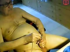 grandpa jerk off on cam