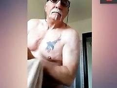 grandpa prepares for cipap putih hunting
