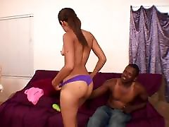 Ebony licked and fucked by BBC