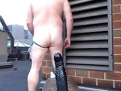 JoeyDs bubble butt Outdoor pale sexy hard xxx vedo man
