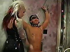 Sexy domina enslaves another beauty in hardcore badwap hindi audio style
