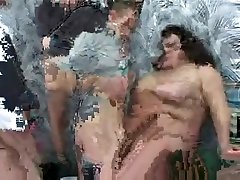 Exotic young nude scene BBW, Gangbang adult video