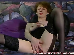 Heavy ashian grilmom com Anita fisting her decorated metal pussy