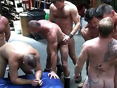 Warehouse Orgy Fist and Fuck