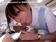 Horny Japanese slut Hirono Imai in Crazy POV, Nurse JAV clip