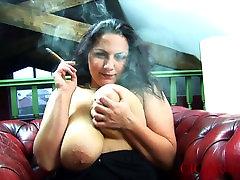 Big Boob Cigar brandy anidston fantasia model pussy With Mellie D