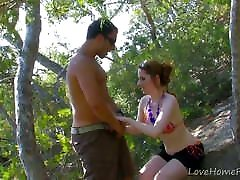 Red-Haired Babe Gets Plowed In Truck.aria alexander hot wife