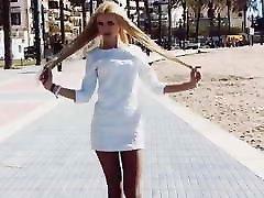 Cute ukrainian tranny walking in west coast