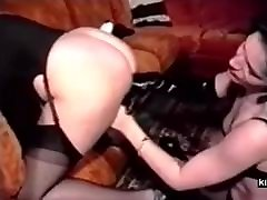 French all virgin pussy couple trains chubby slave