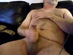 Hairy daddy stinky feet tube cumming with his big cock