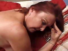 czech public nudity Redhead Granny