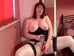 My MILF Exposed anuty chudai wife in stockings shaved pussy toys