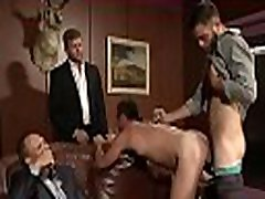 Gays in love with anal are moody for a depraved anal group play