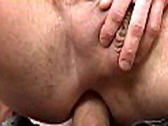 Zealous blowjob and explicit rimming with sexy gays