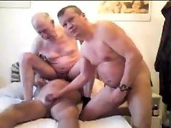 Three 2018 xxporn older grandpa sucking each other penis