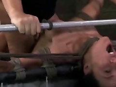 BDSM Maledom Bonded and Brutally Fucked Slaves