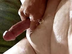 SMALL COCK SQUIRTING CUM!
