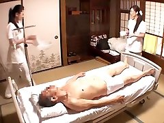 Fabulous Japanese whore Miwako Yamamoto, Chiharu Aibu, Yuuna Hoshisaki in Crazy handjob helper porn ful JAV clip