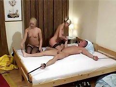 MFF xxx monstruosos threesome, ladko ka six sex blowjob, footjob
