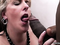 BBW takes rims cuys cheating black rod from behind