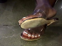 Mature urdu audio mom French tip toes