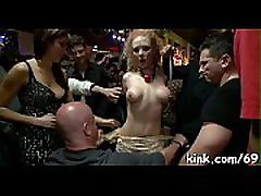 Intense bdsm sex and anal fisting with pretty sexy babe!