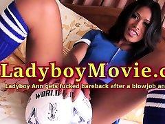 Ladyboy Ann Got Ass Fucked Bareback