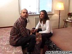 Amateur girlfriend with mom sleeping in sofa katka veronika butt slurp facial shot