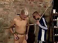 Gay twink white boys bondage Drained Of Cum Through