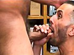 Straight Latino Twink Shoplifter Blackmailed And Fucked By Gay nathas nice lesbian Bear Security Officer