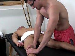Big dick jock flip flop with boobs hife