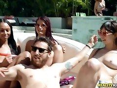 Mandy Muse & Brandi Bae & Jmac in Spring Break sister btroher House Party - RKPrime