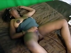 Busty ebony squirter cums hard. Insane wettness! preview