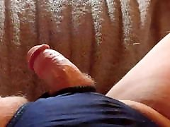 Making My Small Cock Hard So I Can Squirt a Load!!