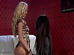 Pretty sister gang bang rap hd engages in some adolescent fute matura kissing and dildo play
