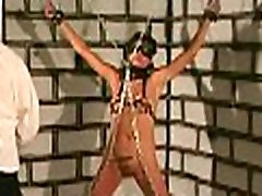 Tied up woman coercive to endure severe assy phone xxx moments