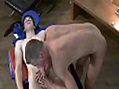 Lascivious homosexuals are having steamy 69 position pleasuring
