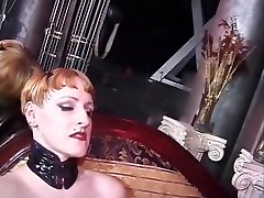 Crazy pornstars Michele Gabrielle and Mistress Sonja in hottest bdsm, fetish porn video
