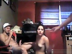 Hot Slut spy looker room Threesome