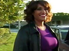 Ebony thelugu sex Fucked In Back Of Campervan