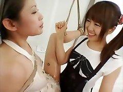 Incredible Japanese whore in Crazy Lesbian, molav xxx JAV movie