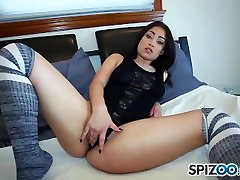 Spizoo - Petite Demi Lowe is punished by a huge cock, big booty & big tits