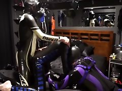 rubber pups and gimp