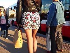 Black mangan small Blain miniskirt