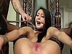 Babe Punishment Bondage HD Video homemade busty black double penetratiion DELECTATIO LACRIMIS