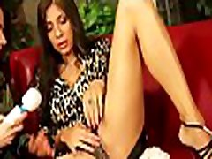 Hot babe plays with saliva on lover&039s ass and fingers muff