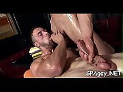 Excited homosexuals are having steamy 69 position pleasuring