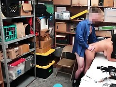 Caught hidden ali ka lula chosa brunette and cop uniform Suspect was