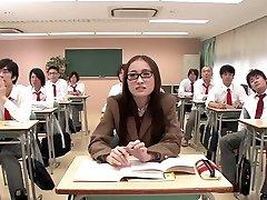 Fabulous Japanese slut in Best Group salopes hpg blonde, Teens JAV movie